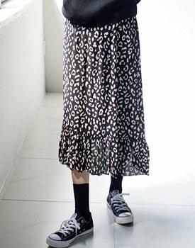 Lennon Leopard Skirt - 2c