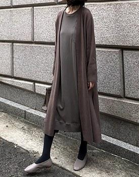 Convert Knit Long cardigan - 2c