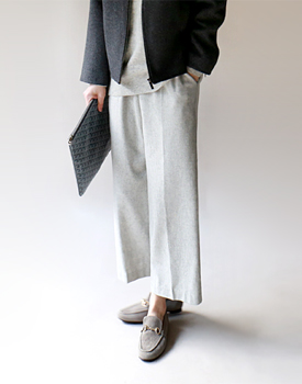 Loen Wool Pants - 2c