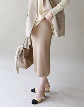 Mist Knit Skirt - 3c