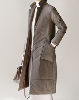 Sally padding long coat - 2c